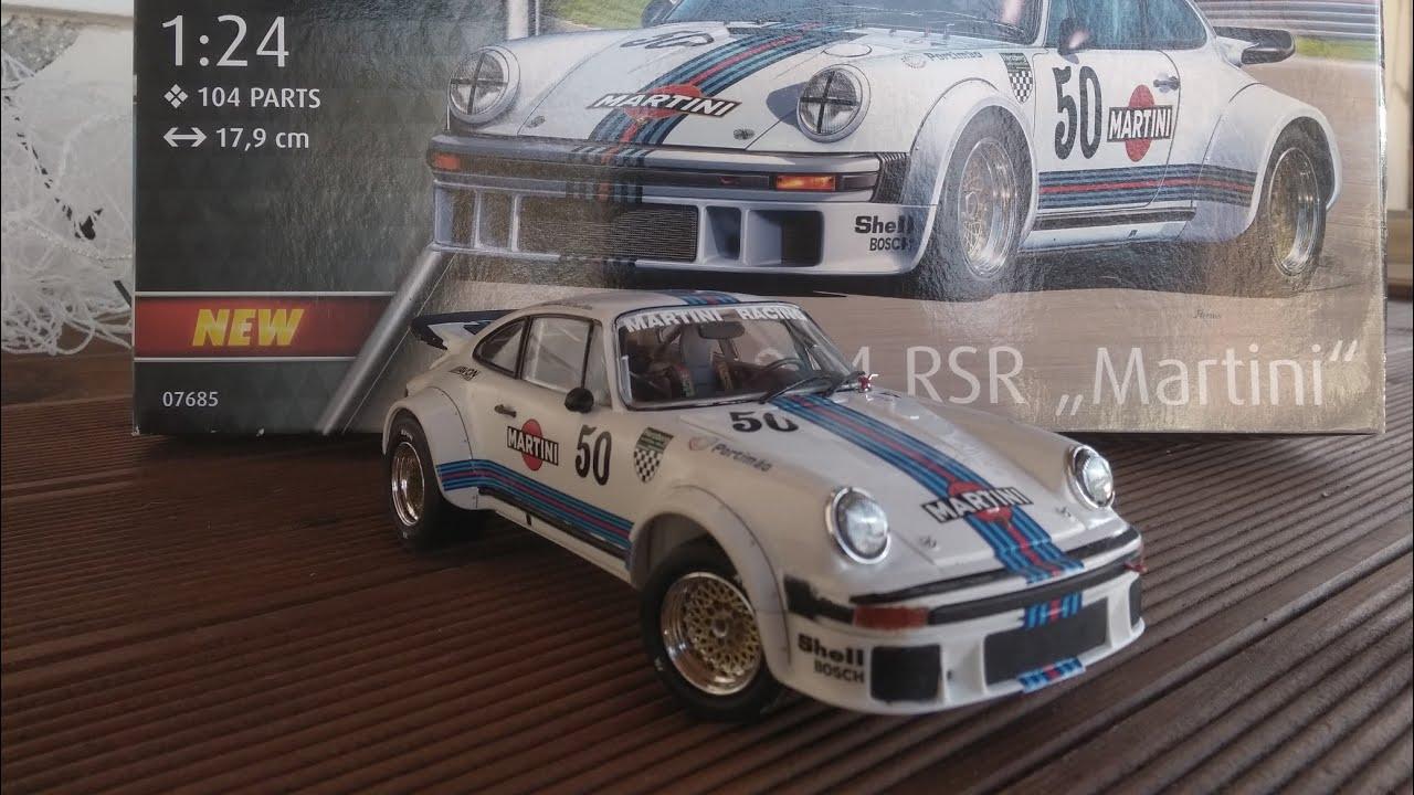 """Revell Porsche 934 RSR /""""Martini/"""" in 1:24 Revell 07685   ."""