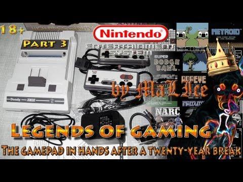 Nintendo Entertainment System (NES) aka Dendy - Nostalgic Trip Part 3
