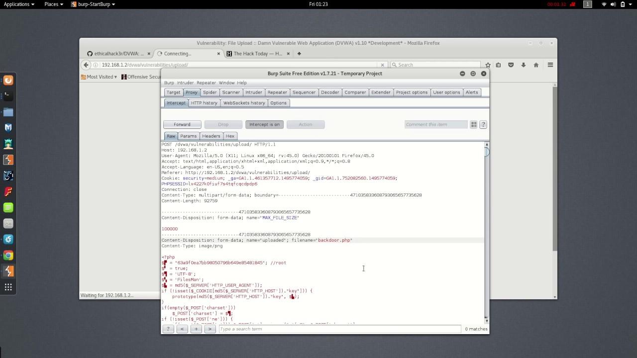 Dvwa Upload Shell On Web Server Medium Security Part 1