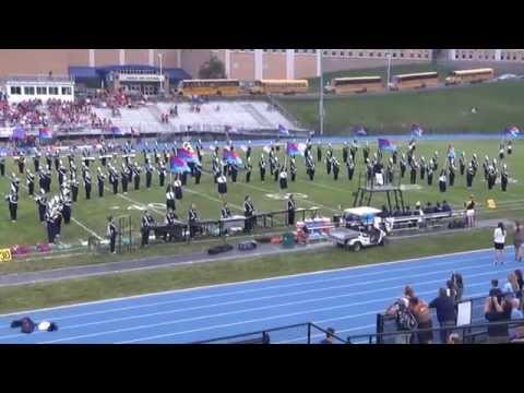 Blue Out Benefit for Thelma Urban, Raider Marching Band, Sports Stadium, Tamaqua, 9-4-2015
