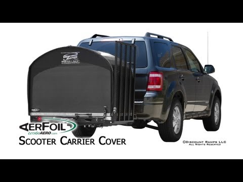 AerFoil™ Scooter Carrier Cover - Assembly & Installation