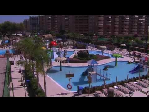 Inauguraci n parque acu tico polinesia y jard n encantado for Jardin encantado marina d or
