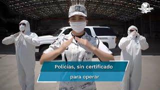 Aunque 4T prometió que en año y medio elementos estarían capacitados, la mayoría no   ha acreditado exámenes  de control; pandemia causó atrasos en trámites, dice SSPC