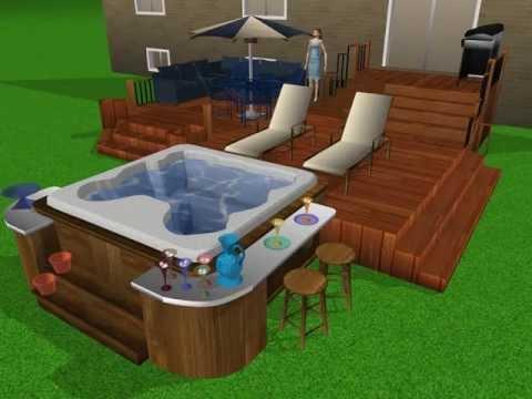 Terrasse Spa Patio plans de patio ml - youtube