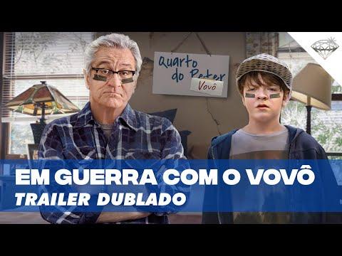 Em Guerra Com o Vovô   Trailer Dublado