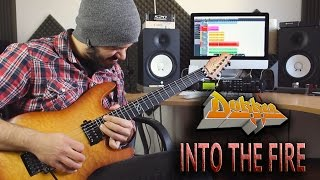 Video DOKKEN | Into The Fire | SOLO COVER download MP3, 3GP, MP4, WEBM, AVI, FLV Maret 2017