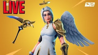 Fortnite DAILY ITEM SHOP LIVE | NEW ARK SKIN (ANGEL) | CIZZORZ DEATHRUN 2.0
