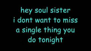 Hey, Soul Sister lyrics - Train