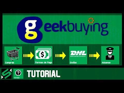 ¿Cómo comprar en GeekBuying.com? Tutorial en Español