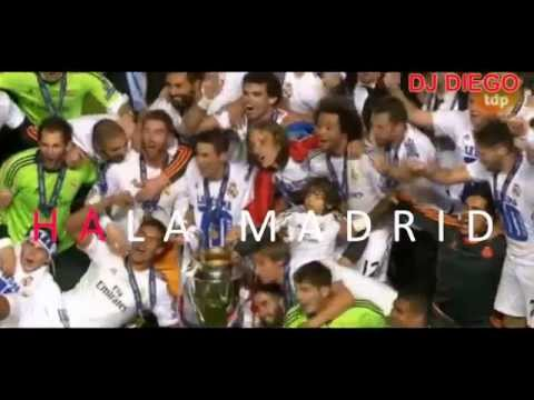 HALA MADRID Y NADA MAS. HIMNO 10ª CHAMPIONS EN KARAOKE