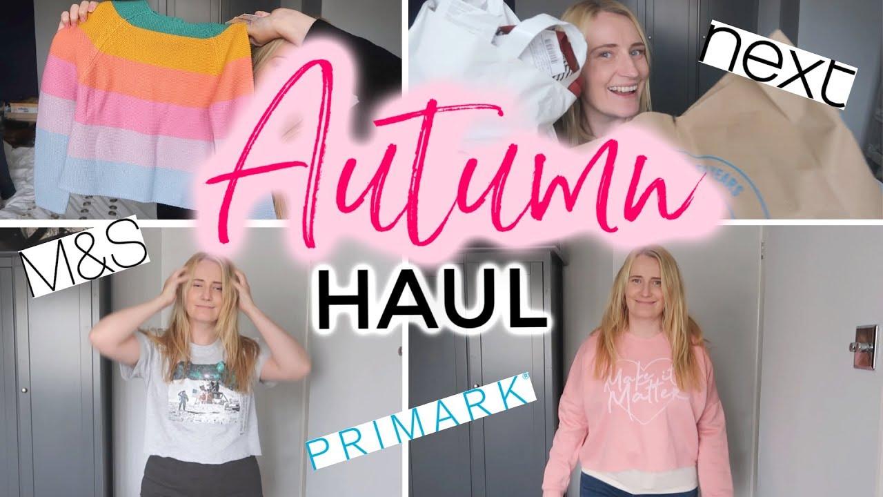 [VIDEO] - AUTUMN 2019 MUM & DAUGHTER CLOTHES HAUL   PRIMARK, NEXT & M&S 7