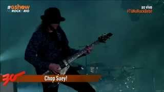 System Of A Down no Rock in Rio Brasil 2015 HD - Chop Suey!