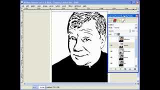 Creating Scroll Saw Portrait Patterns Using Gimp - L8