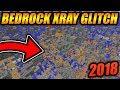 BEST WORKING XRAY GLITCH FOR MINECRAFT BEDROCK EDITION! - Minecraft Bedrock Edition XRAY GLITCH 2018