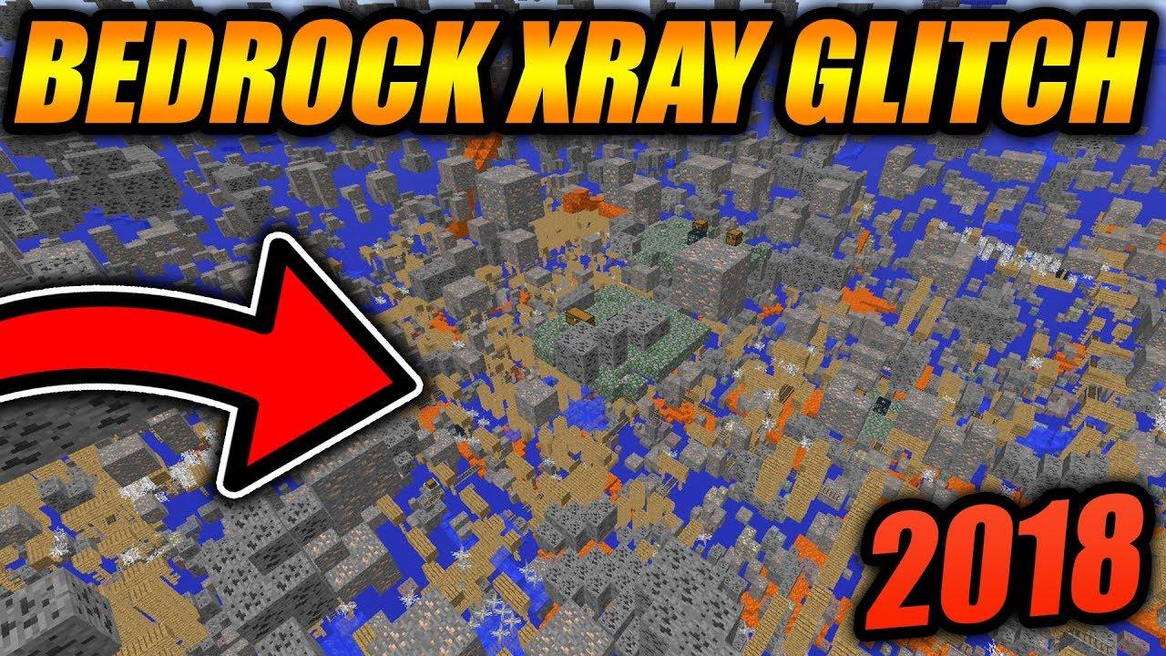 BEST WORKING XRAY GLITCH FOR MINECRAFT BEDROCK EDITION! - Minecraft Bedrock  Edition XRAY GLITCH 12