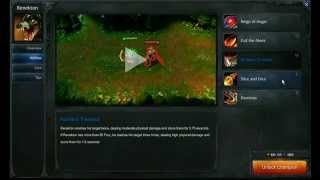 Renekton abilities - League of Legends