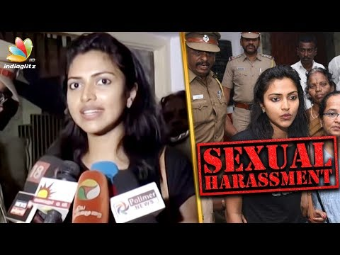 Amala Paul files a sexual harassment case