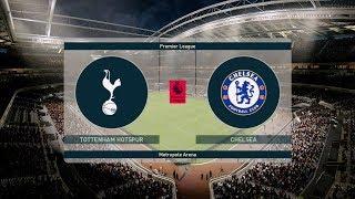 Tottenham vs Chelsea - Carabao Cup 08/01/2019 Gameplay