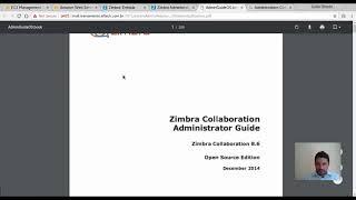 14  Обзор консоли администрирования Zimbra