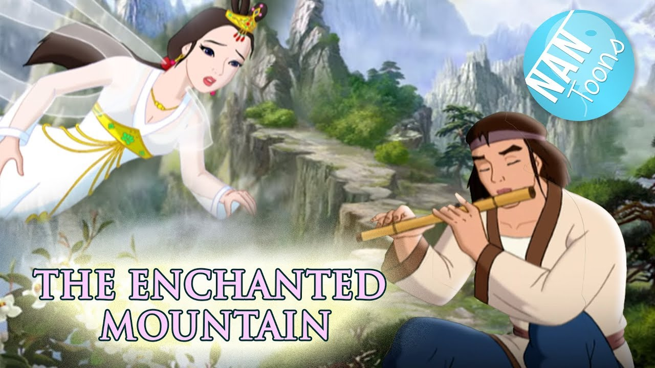 Download ENCHANTED MOUNTAIN full movie for kids | A WOODMAN AND A FAIRY cartoon | fairy tale for children