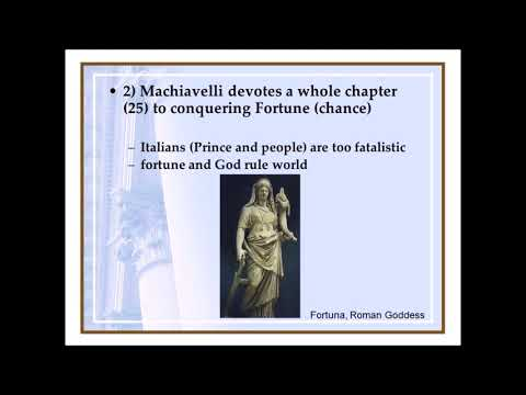 Machiavelli on Nationalism, Patriotism, Fortune, and Republican Government