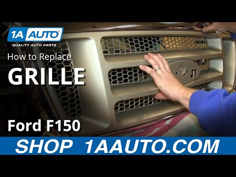 How To Replace Front Grille 05-08 Ford F-150