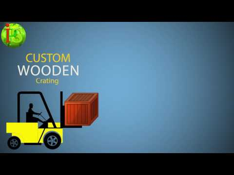 Custom Wooden Crating Services with Packing Service, Inc.