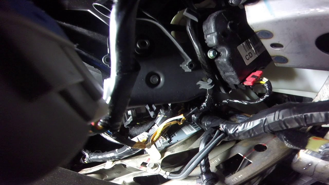 Ford Fusion Passenger Side Fuse Box Ford Fusion Hvac Temp Blend Door Actuator Motor Youtube