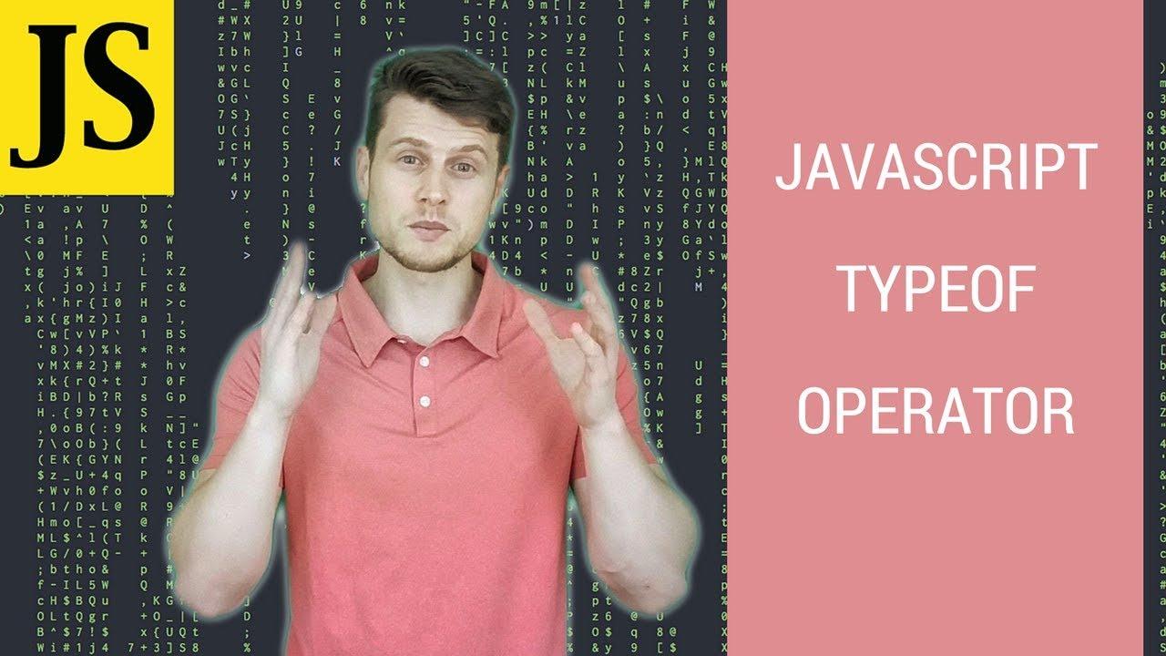 Javascript Tutorial: typeof operator - YouTube