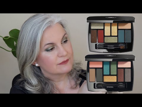 Chanel Les 9 Ombres Eyeshadow Palettes Makeup Look