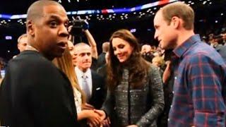 Уильям и Кейт встретились с певицей Бейонсе и баскетболистом Леброном Джеймсом (новости)