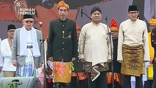 Janji Jokowi-Ma'ruf & Prabowo-Sandiaga untuk Kampanye Damai
