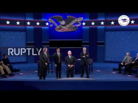 LIVE: Second 2016 presidential debate held at Washington University, St. Louis