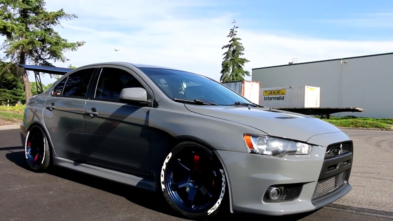 Evo Wrap In Gloss Dark Gray By D Amp A Customs Seattle
