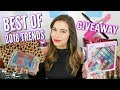 My Favorite 2018 Beauty & Fashion Trends + GIVEAWAY!