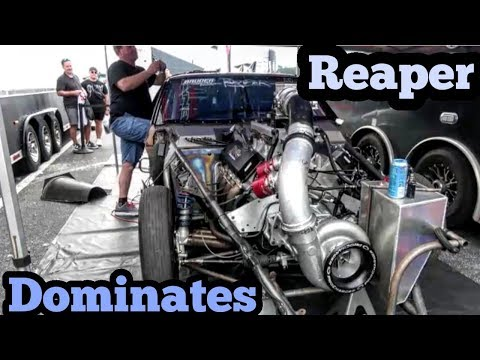 Street Outlaws Reaper Strong Showing at Florida No Prep Kings