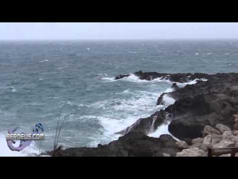 Weather - Winds & Rain Bermuda Feb 12th 2011