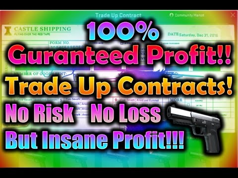 Csgo Cheap But Insane Guranteed Profit Trade Up Contract For 2017