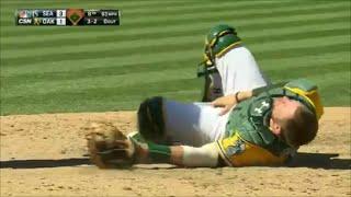 MLB Catcher Injuries