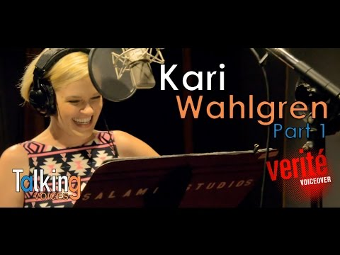 Kari Wahlgren  Talking Voices Part 1