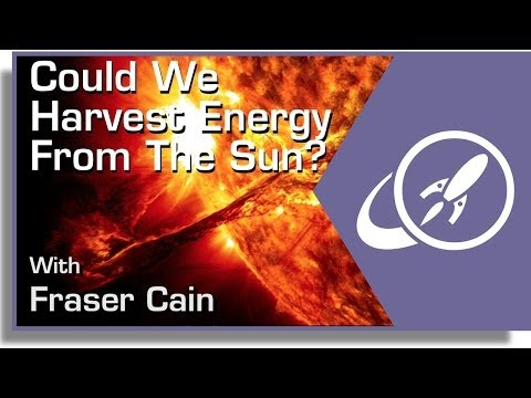 Could We Harvest Energy From the Sun?