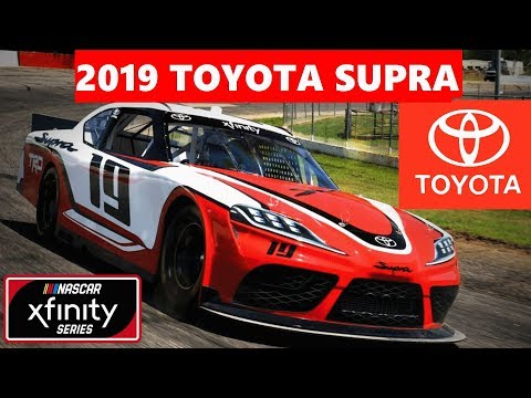 IS THIS EVEN AN XFINITY CAR?  Toyota Supra to the NASCAR XFINITY Series in 2019