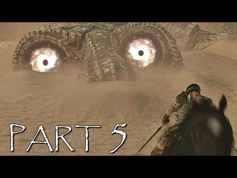 SHADOW OF THE COLOSSUS PS4 REMAKE Walkthrough Gameplay Part 5 - Dirge
