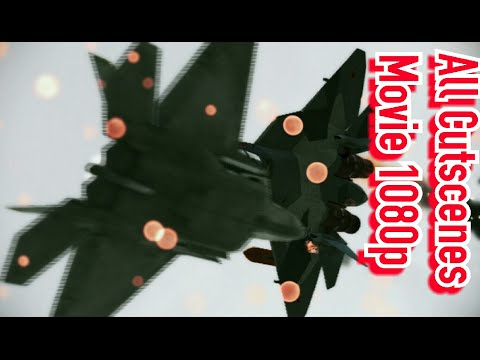 Ace Combat Assault Horizon: All Cutscenes + Boss Battles - Movie - ( PS3/1080p )
