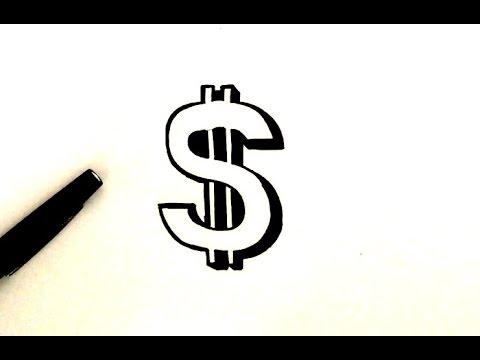 Comment Dessiner Le Logo Dollar Youtube