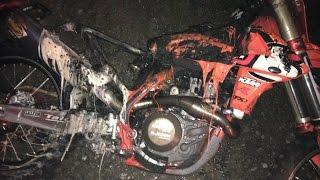 On Friday night, around 8 p.m. the BTOSports.com-WPS-KTM rig caught...
