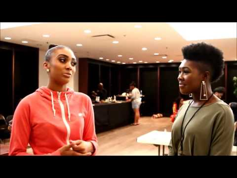 MS Fashion Week Interviews with Destane Stover