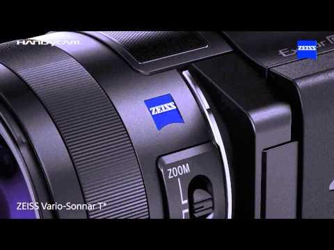 FDR-AX100E : กล้องวีดีโอ 4K ตัวแรกจาก Handycam ^_^