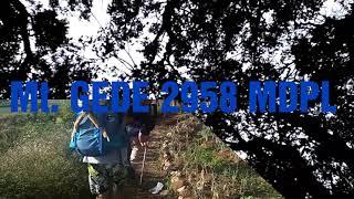 Gunung Gede - travel video