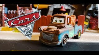 Disney Cars 2 *SUPER CHASE* Mater w/ Duct Tape! | Mattel 2016 (Single) Diecast!